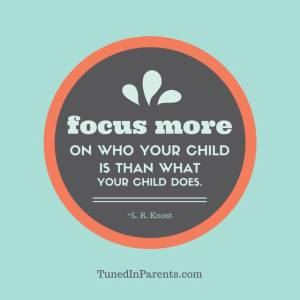 TiP focus on your child