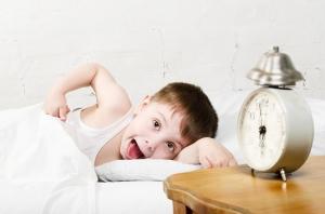 toddler waking up