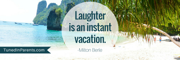 Tuned In Parents Humor Quote by Milton Berle
