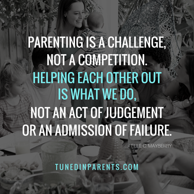 If you believe in this and live by it, you are more than a parent. You are also an advocate of parents.